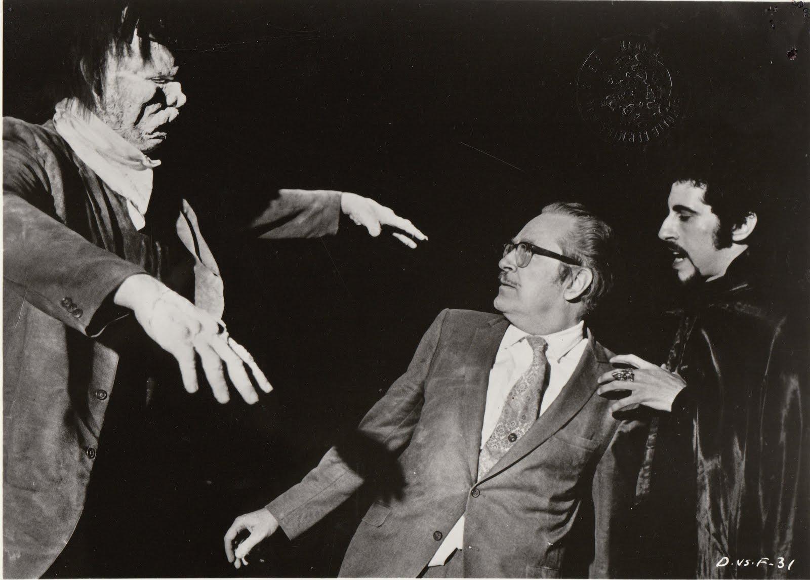 Ackerman Dracula vs Frankenstein