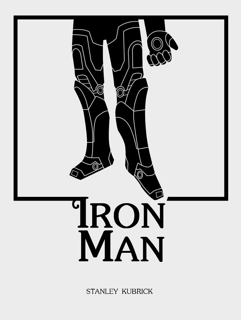 Kubrick Iron Man Poster1
