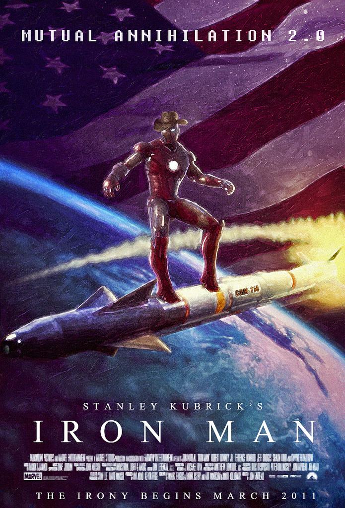 Kubrick Iron Man Poster18