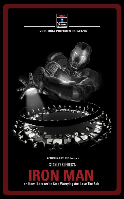 Kubrick Iron Man Poster4