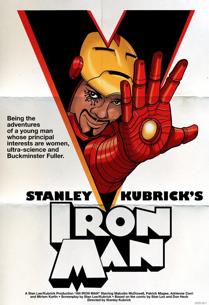 Kubrick Iron Man Poster6