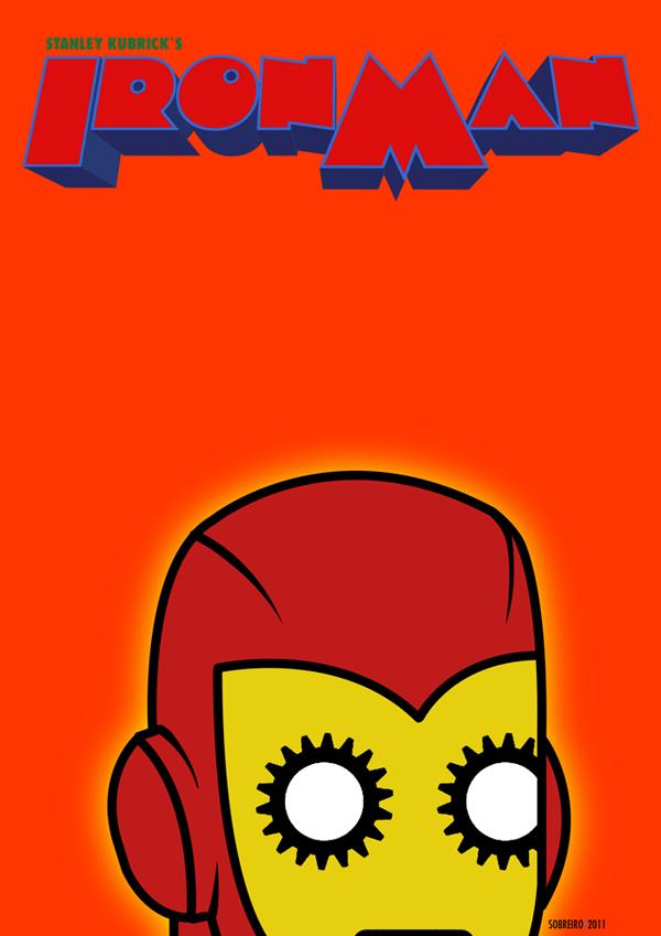 Kubrick Iron Man Poster9