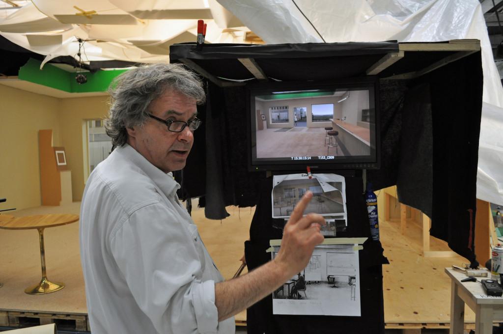 A kamera mögött: Borbás István, aki Pálos Gergővel dolgozott együtt Roy Andersson új filmjén.