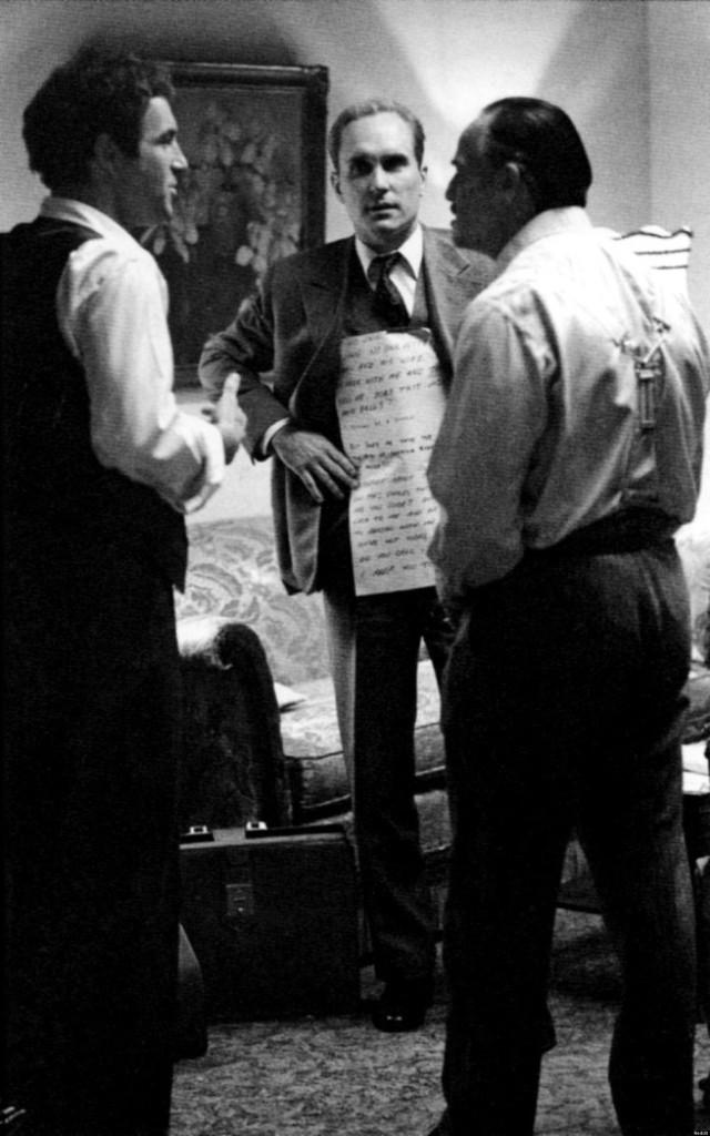 A keresztapa - Robert Duvall Brando szövegébe öltöztetve